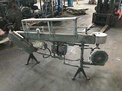3 14 X 72 Stainless Steel Table Top Bottle Conveyor