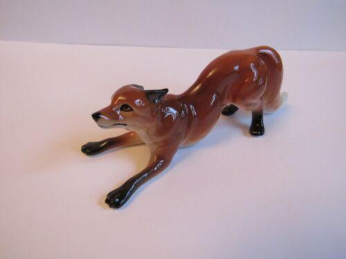 fox figurine porcelain Russian top quality porcelain souvenir hand painted new