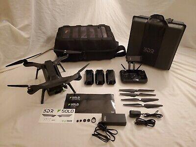 3DR Solitary RTF Quadcopter Smart Drone - Black (SA10A)