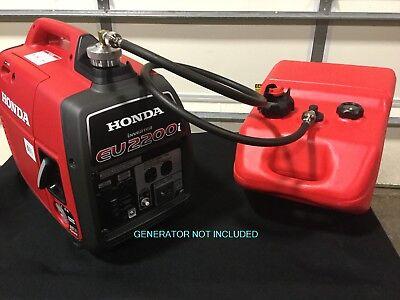 Honda Eu2200i Generator 6 Gal Single Line Extended Run Marine Fuel System New