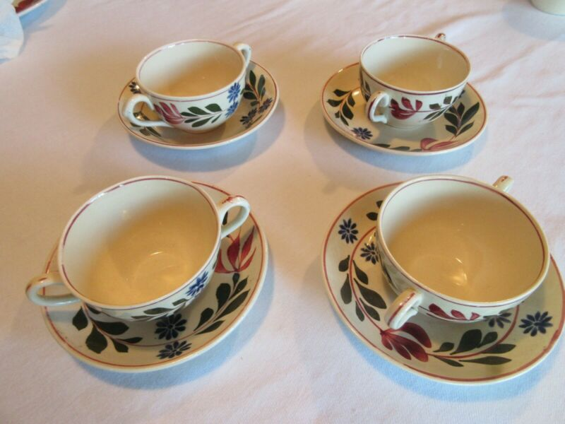 Titian Ware Alcazar. Saucer and Soup cup Great condition. *NO CHIPS*