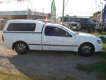 2008 Ford Falcon XL LPG Ute Maddington Gosnells Area Preview