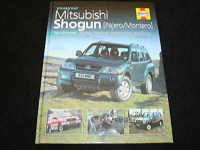 YOU AND YOUR MITSUBISHI SHOGUN (PAJERO/MONTERO) PAUL GUINNESS 2005 1st NEW, OLD