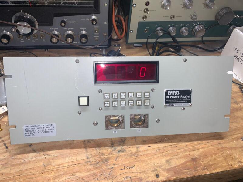 BIRD MODEL 4385 RF POWER ANALYST, 100 mW to 10 kW, 0.45 - 2300 MHz