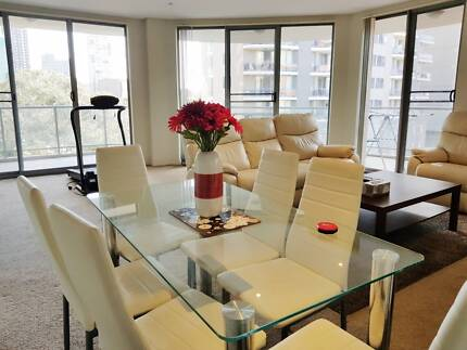 Furnished spacious Master bedroom with its own bathroom & balcony