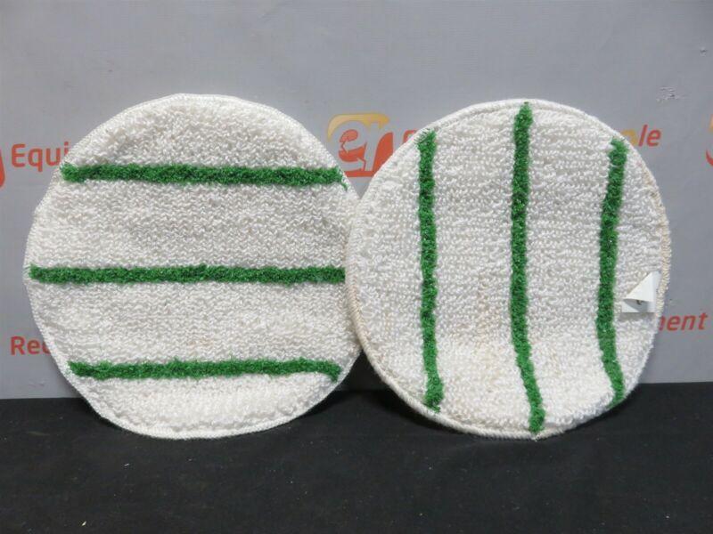 "Tiger Carpet Bonnet 17"" Commercial Carpet Cleaning Pad New Lot of 2"