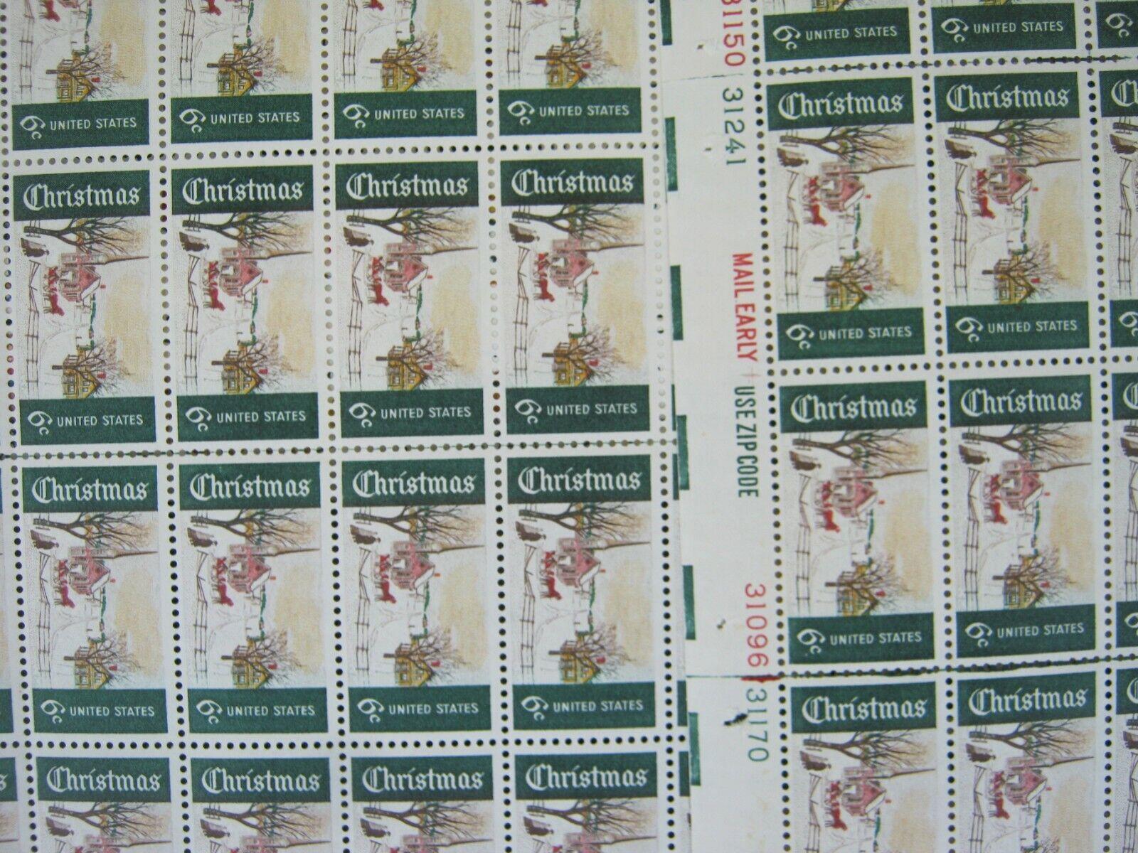 Scott U.S. Vintage Xmas Stamps -- 1415--1384--1471--1472--1507--2429--1800--1550 - $99.95