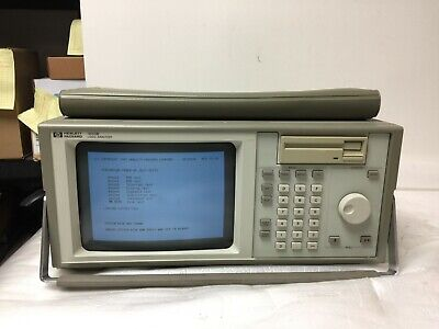 Hp Agilent 1650b Logic Analyzer System