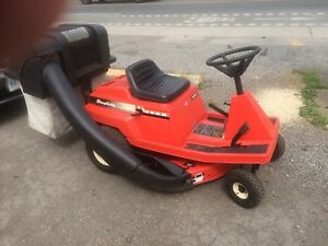 "Simplicity 10HP 30"" Rear Engine Bagger Riding Mower lawn tractor"