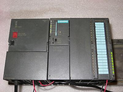 SIEMENS 6ES7313-6CE01-0AB0 S7-300 CPU 313C-2 DP PROCESSOR UNIT NICE TAKEOUT M//O!
