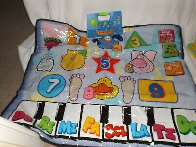 STEP N LEARN FARMYARD FRIENDS BABY TODDLER MUSICAL PIANO ACTIVITY GAMES PLAYMAT segunda mano  Embacar hacia Mexico