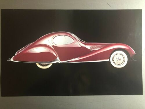 1937 Talbot Lago T150-SS Coupe Picture Print Poster RARE Awesome L@@K