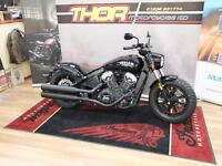 INDIAN SCOUT BOBBER ABS 2018 MODEL IN STOCK AT THOR MCS, FROM £11299