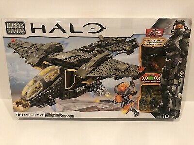 Halo Mega Bloks 97129 UNSC Pelican Gunship with Lights and Sounds 1,161