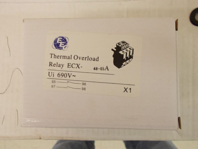 EEC  ECX48-65A  OVERLOAD RELAY   AEG