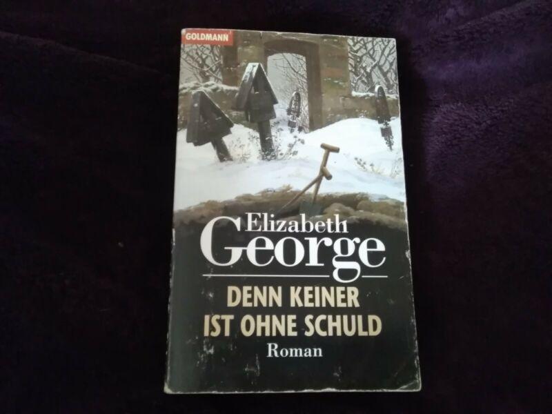 Buch: Denn keiner ist ohne Schuld von Elizabeth George