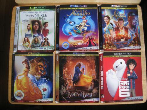 Disney 4K Ultra HD Blu ray slipcover (SLIPCOVER ONLY! NO MOVIE DISC!)