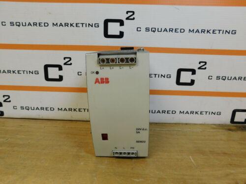 Abb Sd822 3bsc610038r1 Power Supply 5a 24v Csq