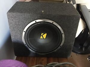 Kicker Subwoofer Tea Tree Gully Tea Tree Gully Area Preview