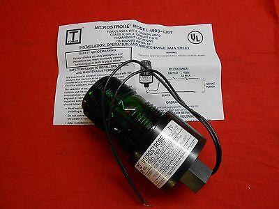 Tomar Electronics 490s-120-green Microstrobe Green Safety Light