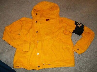 424 on Fairfax Armband Yellow Denim Jacket