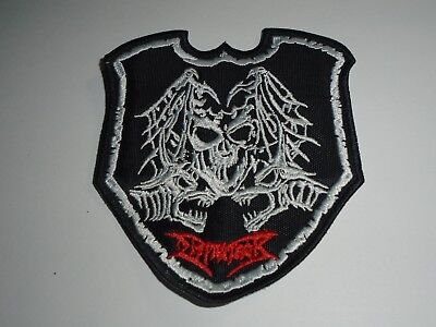 DISMEMBER WHEN IRON CROSSES EMBROIDERED PATCH