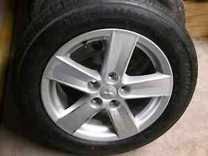"16"" Mitsubishi Stock Rims w Tyres 205/60/R16 Like New! Ryde Ryde Area Preview"