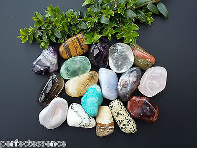 XL CRYSTAL TUMBLESTONES A Grade 30-40mm - List A - Tumbled Stone Chakra Gemstone