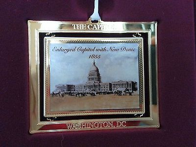 2004 Us Congressional Holiday Ornament Enlarged Capital With New Dome 1855