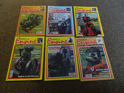 Stationary Engine Magazines x 6 copies