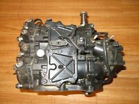 28 hp OMC Johnson Evinrude Outboard Engine Powerhead with good compression