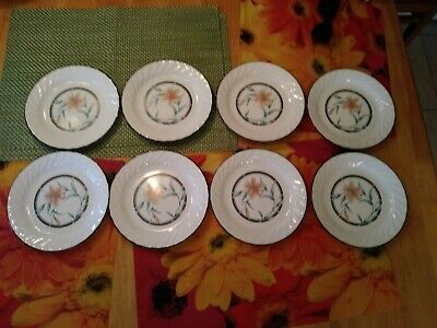 Corning TIGER LILY Salad Plates set of 8 bin 1062 for sale  Shipping to Canada