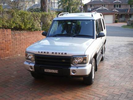 2003 Land Rover Discovery 2A TD5 Wagon Castle Hill The Hills District Preview