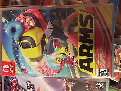 Brand New Factory Sealed Nintendo Switch Arms    Arms   Game   Sale