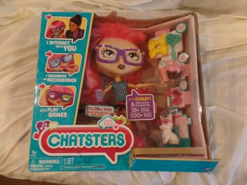 CHATSTERS DOLL GABBY INTERACTIVE IN BOX SPIN MASTER SPINMASTER
