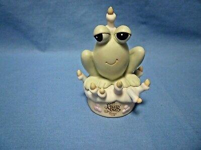 Vintage Precious Moments Birthday Club Frog B0010 Figurine (A605)