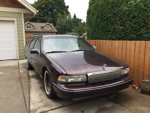 96 Chevy Caprice Classic Wagon (Doesn't Run)
