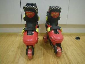LIGHTNING MCQUEEN 2 IN 1 TRAINER ROLLERBLADES MULTIFUNCTION INLIN Malvern East Stonnington Area Preview