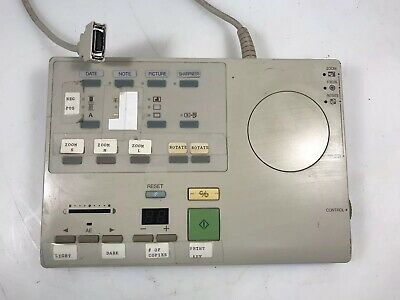 Mg1 2587 Remote Controller For Canon Microfilm Microfiche Scanner Used