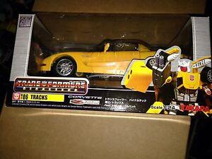 TRANSFORMERS Binaltech Bt-06 Yellow Variant Tracks Corvette New Sealed