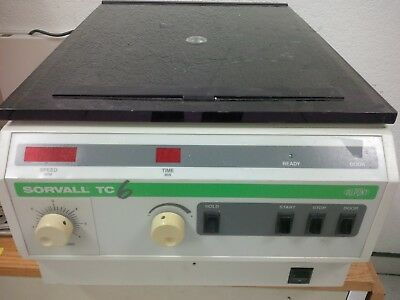 Sorvall Tc-6 Table Top Centrifuge Miami
