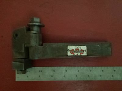 Large Montgomery Co Adjustable Cut Off Lathe Planer Shaper Metal Tool Holder