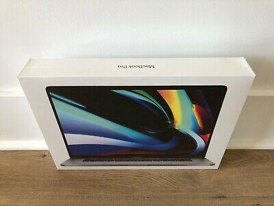 "Macbook Pro Touch Bar 16"" Gray i7 512GB 16GB MVVL2LL/A AppleCare+ 3/22/23"