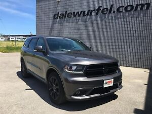 2017 Dodge Durango GT Blacktop | SUNROOF | DUAL DVD | NAV |
