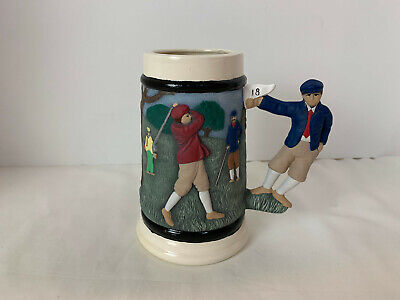 Golf Theme Beer Stein Decoration Only 6 3/4