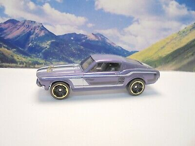 67 FORD MUSTANG GT    2018 Hot Wheels Then And Now Series     Purple
