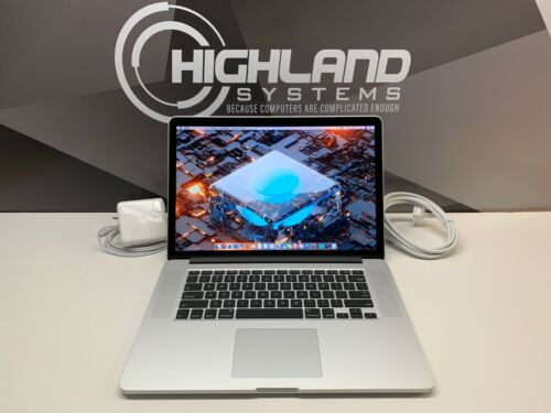 Macbook Pro 15   Retina   3.2ghz I7    16gb Ram   1tb Ssd   Warranty   Osx-2017