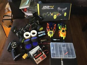Team losi 22.4 full race kit,