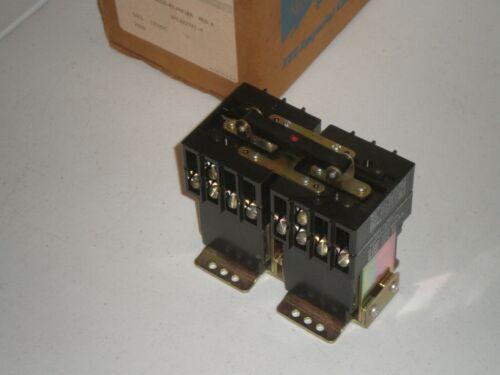 New! ITE Rowan 2180SR-FEXR41PA Reversing Contactor 125 VDC Coil Free Shipping!