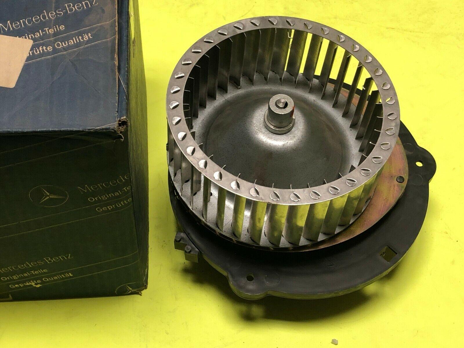 Mercedes Benz W123 Early Metal Blower Motor BEHR Part # 1238200642 Genuine NOS